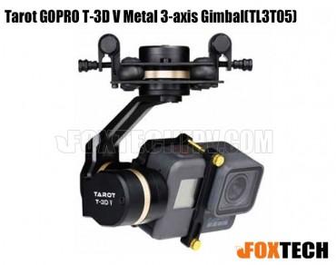 Tarot GOPRO T-3D V Metal 3-axis Gimbal(TL3T05)