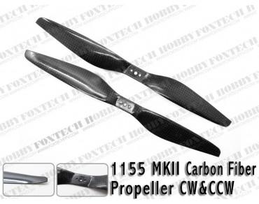 1155 MKII Carbon Fiber Propeller CW&CCW