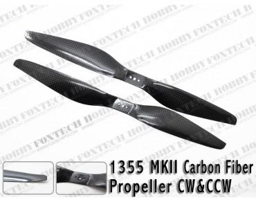 1355 MKII Carbon Fiber Propeller CW&CCW