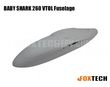 FOXTECH BABY SHARK 260 VTOL Spare Parts (Matt Grey)
