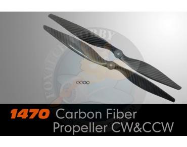 1470 Carbon Fiber Propeller CW&CCW