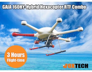 GAIA 160HY-Hybrid Hexacopter A3 Pro Combo (lightbridge 2)