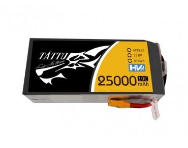 TATTU 22.8V 6S 25000mAh 10C High Voltage Lipo Battery