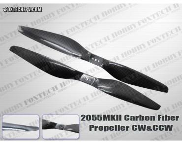 2055 MKII Carbon Fiber Propeller CW&CCW