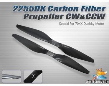 2255 DK Carbon Fiber Propeller CW&CCW