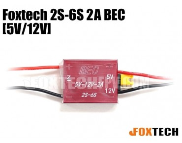 Foxtech 2S-6S 2A BEC