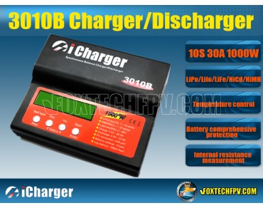 iCharger 3010B Synchronous Balance 10S 30A 1000W Charger/Discharger