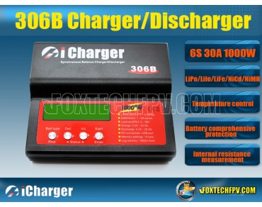 iCharger 306B Synchronous Balance 6S 30A 1000W Charger/Discharger