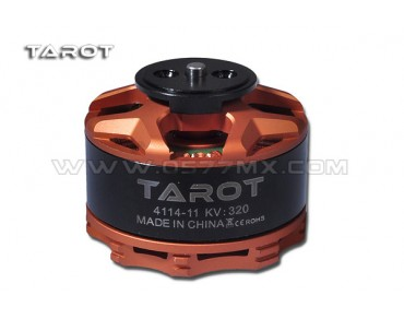 4114/320KV Brushless Motor/orange(TL100B08-02)