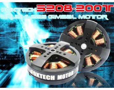 Foxtech 5208-200T Brushless Gimbal Motor(For DLSR)