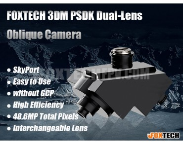 FOXTECH 3DM PSDK Dual-Lens Oblique Camera