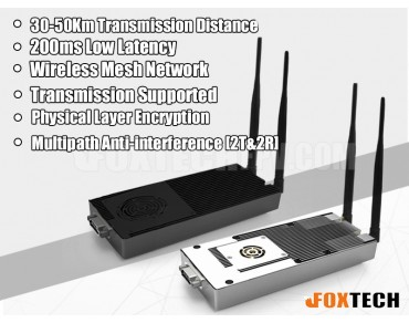XLINK Long Range Data/Video Wireless Transmitting System
