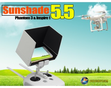 "5.5"" Sunshade for Inpire1/Phantom3 Remote Smartphone"
