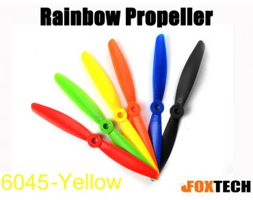 6045 Rainbow Propeller CW/CCW