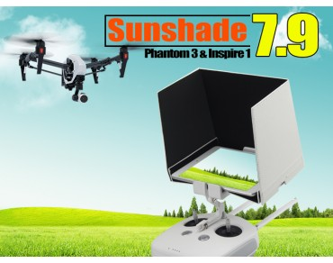 "7.9"" Sunshade for Inpire1/Phantom3 Remote Tablets"