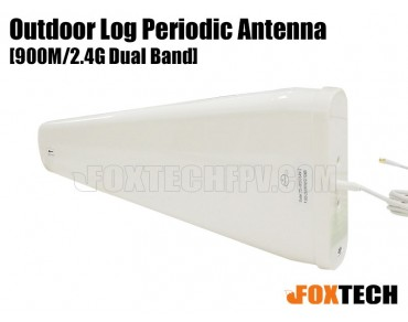 900M/2.4G Directional Dual Band 12dbi Outdoor Log Periodic Antenna