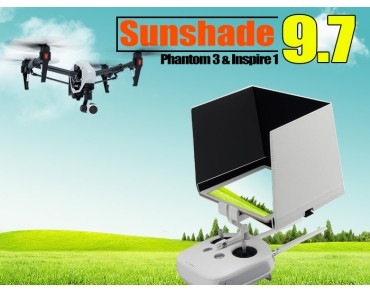 "9.7"" Sunshade for Inpire1/Phantom3 Remote Tablets"