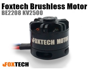 Foxtech Brushless Motor BE2208 KV2500