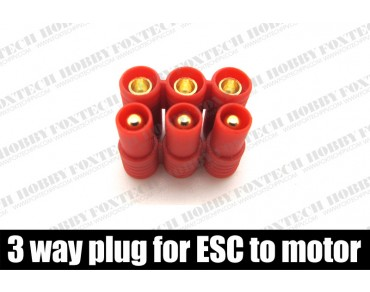 Amass 3 way plug for ESC to motor