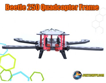 Beetle 250 Quadcopter Frame Glass Fiber