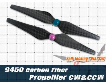 9450 Self-locking CF Propeller
