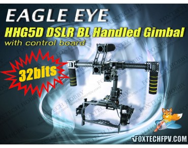 EAGLE EYE DSLR BL Handled Gimbal(32Bits Controller/Free Shipping)