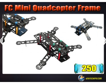 FC 250 Mini Quadcopter FrameCarbon Fiber