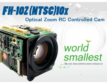 FH-10Z(NTSC) 10x Optical Zoom RC Controlled Cam-world smallest!