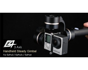 FY-G4 3-Axis Handheld Steady Gimbal for Gopro
