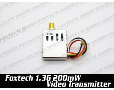 Foxtech 1.3G 200mw video transmitter