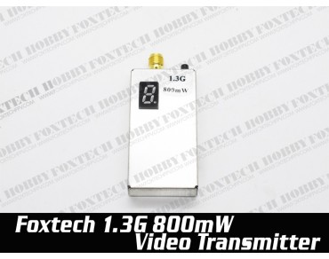 Foxtech 1.3G 800mw video transmitter