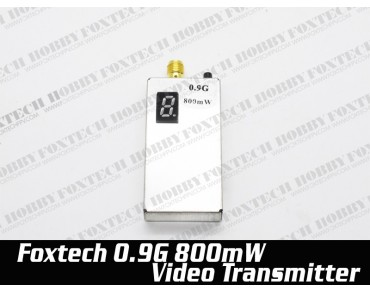 Foxtech 900M 800mw video transmitter