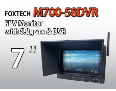 "Foxtech M700-58DVR 7"" monitor"