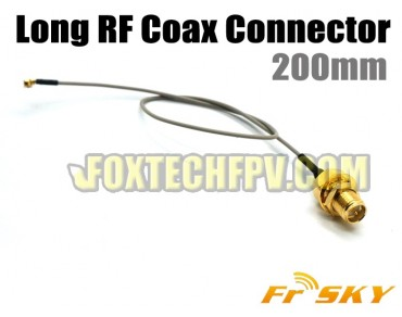 FrSky Long RF Coax Connector 200mm