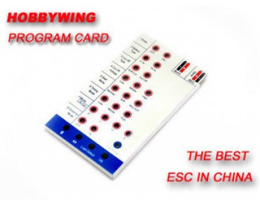 Hobbywing Program Card for Hobbywing FLYFUN&SKYWALKER ESC