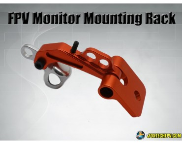 FPV Monitor Mounting Rack Orange