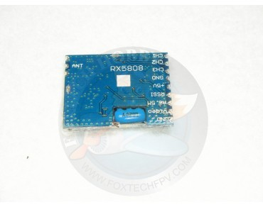 RX5808 5.8G 8CH receiver module