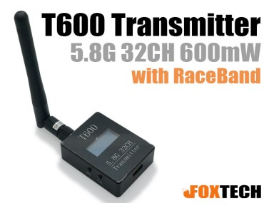 T600 5.8G 32CH 600mW Transmitter with RaceBand
