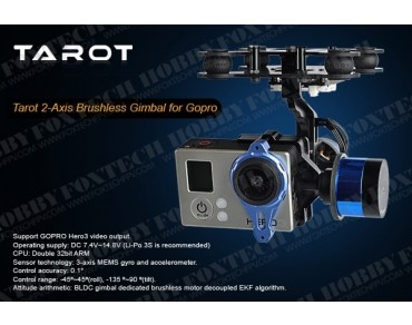 Gopro Two-axis Brushless Gimbal/With Gyro(TL68A00)