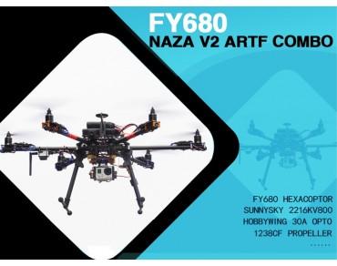 Tarot FY680 NAZA V2 ARTF Combo