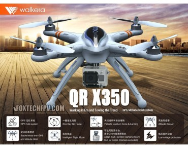 Walkera QR X350 DEVO-F7 ComboFPV Version