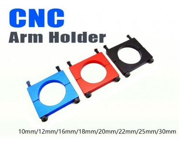 12mm Anodized CNC Arm Holder(Black)