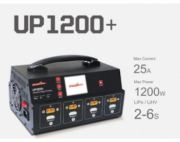 Ultra Power UP1200+ 1200W 25A 8 Channels 2-6S Battery UAV Charger