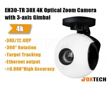 EH30-TR 30X-35X Optical Zoom Camera with 3-axis Gimbal