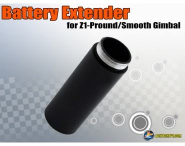Battery Extender for Z1 Pro/Z1 Pround/Z1 Smooth Handheld Gimbal