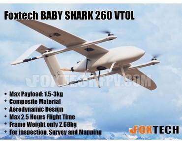 FOXTECH BABY SHARK 260 VTOL