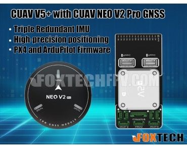 CUAV V5+ Flight Controller with NEO V2 Pro GNSS
