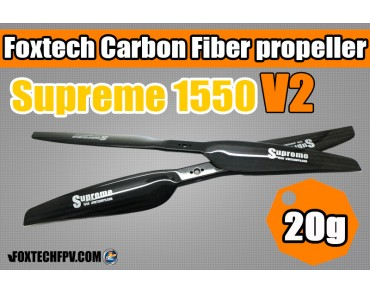 Foxtech Supreme C/F Propeller(15x5.0) V2