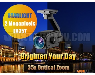 EH30 Series 30x-35x Optical Zoom Starlight Camera with 3-axis Gimbal