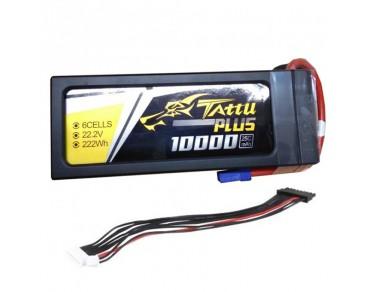 Tattu Plus 22.2V 25C 10000mAh 6S Lipo Smart Battery Pack with XT90 Plug